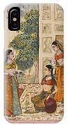 A Princess With Her Maidservants On A Terrace IPhone Case