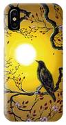 A Raven Remembers Spring IPhone Case