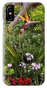 A Riot Of Flowers IPhone Case by Lorraine Devon Wilke