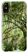 A Road To The Inside Just Outside Of Savannah IPhone Case