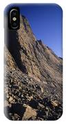 A Rock Face On Cloud Peak In The Big IPhone Case