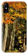 A Romantic Autumn Spot In Inlet IPhone Case