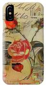 A Rose Story IPhone Case