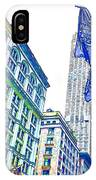 A Row Of Flags In The City Of New York 1 IPhone Case