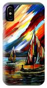 A Sailing Prism IPhone Case