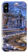 A Sandpoint Winter IPhone Case