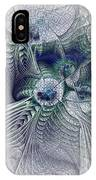 A Secret Sky - Fractal Art IPhone Case