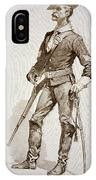 A Sergeant Of The Us Cavalry IPhone Case