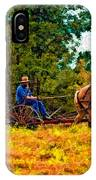 A Simpler Time Impasto IPhone Case
