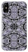A Sliver Of Silver Abstract IPhone Case