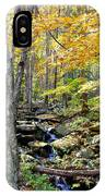 A Smokey Mountain Stream  IPhone Case