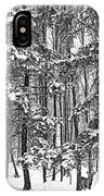 A Snowy Day Bw IPhone Case