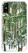 A Snowy Day IPhone Case