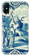 A South-german Faience Stove Tile Second Half 18th Century, By Adam Asar, No 18a IPhone Case