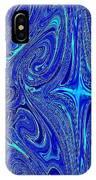 A Spiritual Retereat In Blue IPhone Case