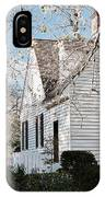 A Spring Day In Colonial Williamsburg IPhone Case