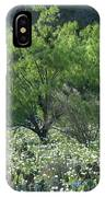 A Spring Scene In Texas. IPhone Case