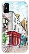 A Street In Ripon IPhone Case