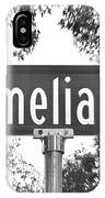 Am - A Street Sign Named Amelia IPhone Case