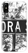 Do - A Street Sign Named Dora IPhone Case