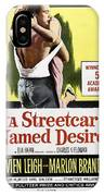 A Streetcar Named Desire Portrait Poster IPhone Case