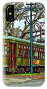 A Streetcar Named St. Charles IPhone Case