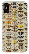 A Study Of Moths Characteristic Of Indo IPhone Case