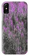 A Suggestion Of Wildflowers IPhone Case