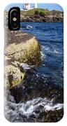 A Summer's Day At Nubble Light, York, Maine  -67969 IPhone Case