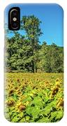 A Sunflower Day IPhone Case