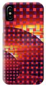A Sunset In Weave IPhone Case