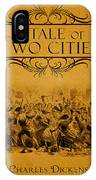 A Tale Of Two Cities Book Cover Movie Poster Art 1 IPhone Case