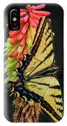 A Tiger On A Poker IPhone X Case