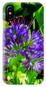 A Touch Of Violet IPhone Case