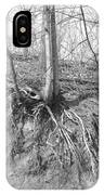 A Tree In Shiawassee Park, Living On The Edge IPhone Case