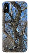 A Tree In Winter- Vertical IPhone Case