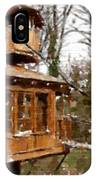 A Treehouse For All Seasons IPhone Case