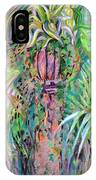 A Tropical Basket On A Post IPhone Case