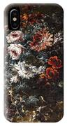 A Vase Of Flowers IPhone Case