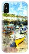Porthleven - A View Across The Harbour IPhone Case