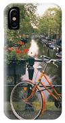 A View Down The Keizersgracht Canal IPhone Case