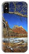 A View In Zion IPhone Case