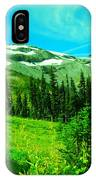A View Into Paradise IPhone Case