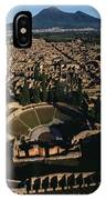 A View Over Pompeii Toward Mount IPhone Case