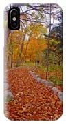 A Walk Along Natures Path IPhone Case