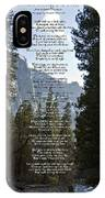 A Walk Among The Trees  IPhone Case