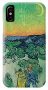 A Walk At Twilight IPhone Case