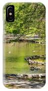 A Walk In City Park IPhone Case