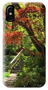 A Walk In Lithia Park IPhone Case