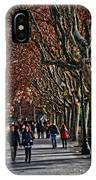 A Walk In The Park - Valencia IPhone Case